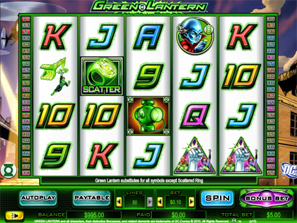 Free Green Lantern Slots – Play Online & Win Real Money