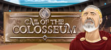 What will be the fate of the Gladiator? WIN 10 Free Games with DOUBLED Prizes to enter the Colosseum. If the Emperor is pleased, you'll be awarded ADDITIONAL FREE GAMES!