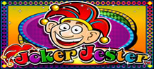 "Joker Jester is a 5 reel, 20 payline slots game with several bonus features. The Juggle Bonus is awarded when the Basket appears on each of the first three reels in a single spin. The Jester will juglle 3 eggs. Select, ""Add Egg"" button to add another egg to the juggling act."
